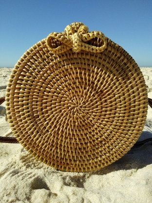 Rattan bag sized down